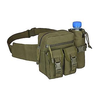 الجيش الجديد حقيبة خضراء التكتيكية حقيبة الخصر زجاجة مياه الهاتف الحقيبة للرياضة في الهواء الطلق sm16545
