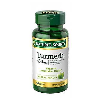 Naturens Bounty Gurkmeja Curcumin, 450 mg, 24 X 60 Caps