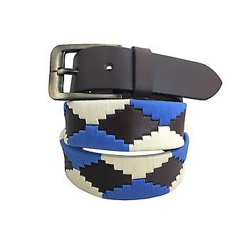 Carlos díaz cinturón de cuero marrón awo6684739895461