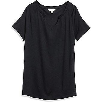 Merkki - Goodthreads Naisten pellva-modaalinen Jersey Lyhythihainen Viiltokaula T-paita