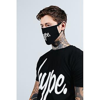 Hype Unisex Adult Script Face Mask