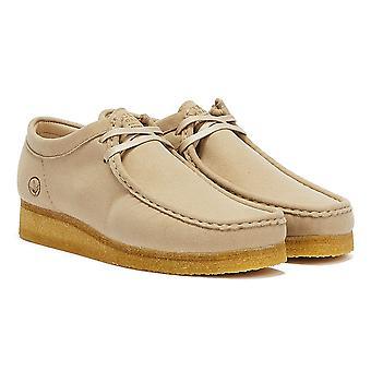 Clarks Wallabee Vegan Mens Sand Shoes
