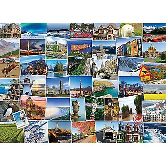 Eurographics Globetrotter Canada Jigsaw Puzzle (1000 Pieces)