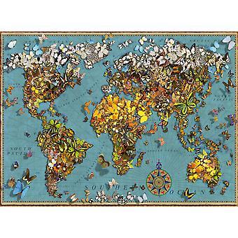 Ravensburger World of Butterflies Jigsaw Puzzle (500 Pieces)