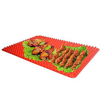 38.8 X 27.4cm Pyramid Baking Mat Silicone Baking Pastry Tool For Microwave High Temperature