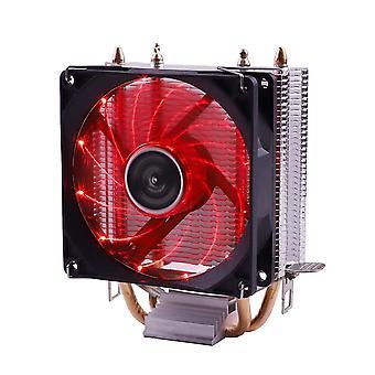 Ventola di raffreddamento efficiente raffreddamento cpu cooler ventola 3pin per intel lga silenzioso ventilador radiatore silenzioso