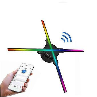 Wifi 3d Holographic Projector Fan-reclame Led Light