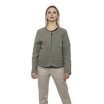 Alpha studio s7 oliva se adapta a blazer
