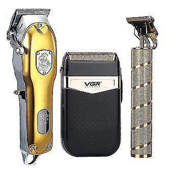 Hiustenleikkurit trimmerit 2021 hiustenleikkuri asettaa sähköinen hiustenleikkuri langaton parranajokone 0mm miehet parturi hiusten leikkaus