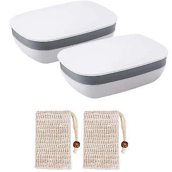 Zeep geval, zeep schotel met zeep zak lek bewijs zeep doos zeep houder