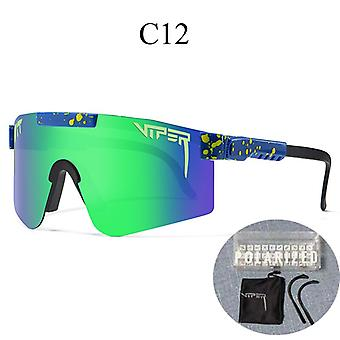 Pit-viper Uv400 Outdoor Movement Cyklistické bežecké polarizované slnečné okuliare