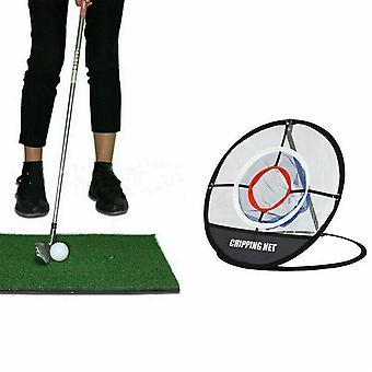 Cages Golf Net Mats Indoor Practice Training Aides Outils extérieurs faciles