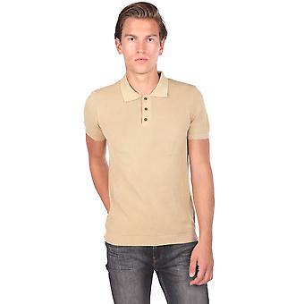 Polo Neck Strikkevarer Herre T-skjorte