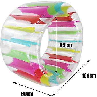 Color Inflatable Roller Toy Grass Water Roller Children Crawling Roller Parent-child Interactive Roller Toy