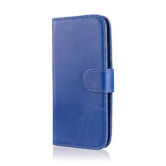 Book wallet case cover for LG Optimus L7ii P710 + stylus - Deep Blue