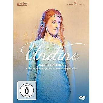 Undine Adapted for Children by Tristan Schulze [DVD] USA import
