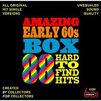 Amazing Early 60s Box: 88 Hard-to-Find Hits - Amazing Early 60s Box: 88 Hard-to-Find Hits [CD] USA import