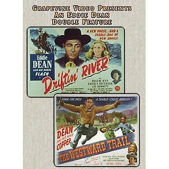 Driftin River (1946) / Westward Trail (1948) [DVD] USA import