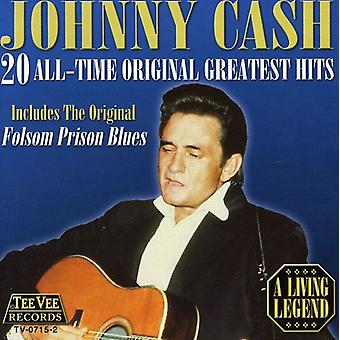 Johnny Cash - 20 All Time Original Greatest Hits [CD] USA import