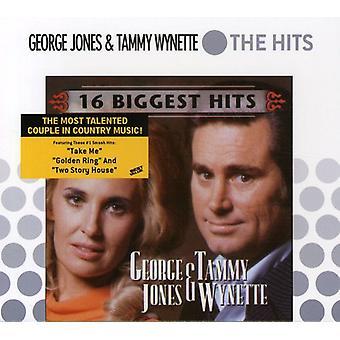 Jones/Wynette - 16 største Hits [DVD] USA import