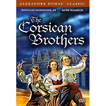 The Corsican Brothers [DVD] USA import