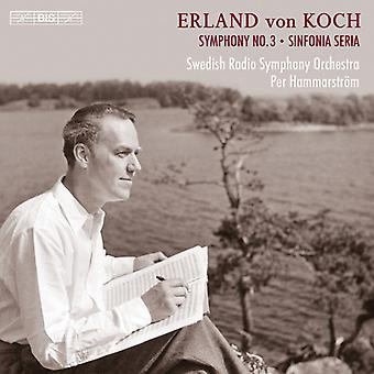 Von Koch / Swedish Radio Symphony Orchestra - Symphonies No. 3 & 4 [CD] USA import