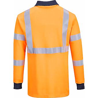 Portwest - Hi-Vis Safety Workwear Flame Resist RIS Polo Shirt