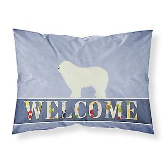 Komondor Welcome Fabric Standard Pillowcase