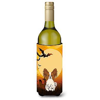 Halloween Papillon rote Flasche Weisswein Beverge Isolator Hugger