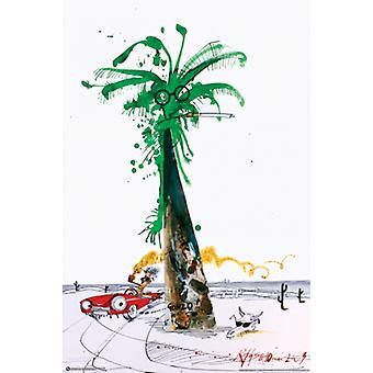 Palm Poster Print by Ralph Steadman (24 x 36)