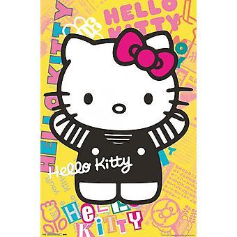 こんにちはキティ - カラフルなポスター ポスター印刷