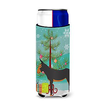 Catalan Donkey Christmas Michelob Ultra Hugger for slim cans