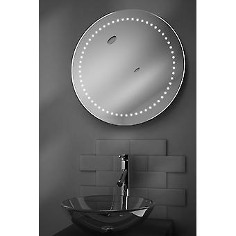 Aero ultraschlanke LED Badezimmer Spiegel mit Demister Pad & Sensor k98