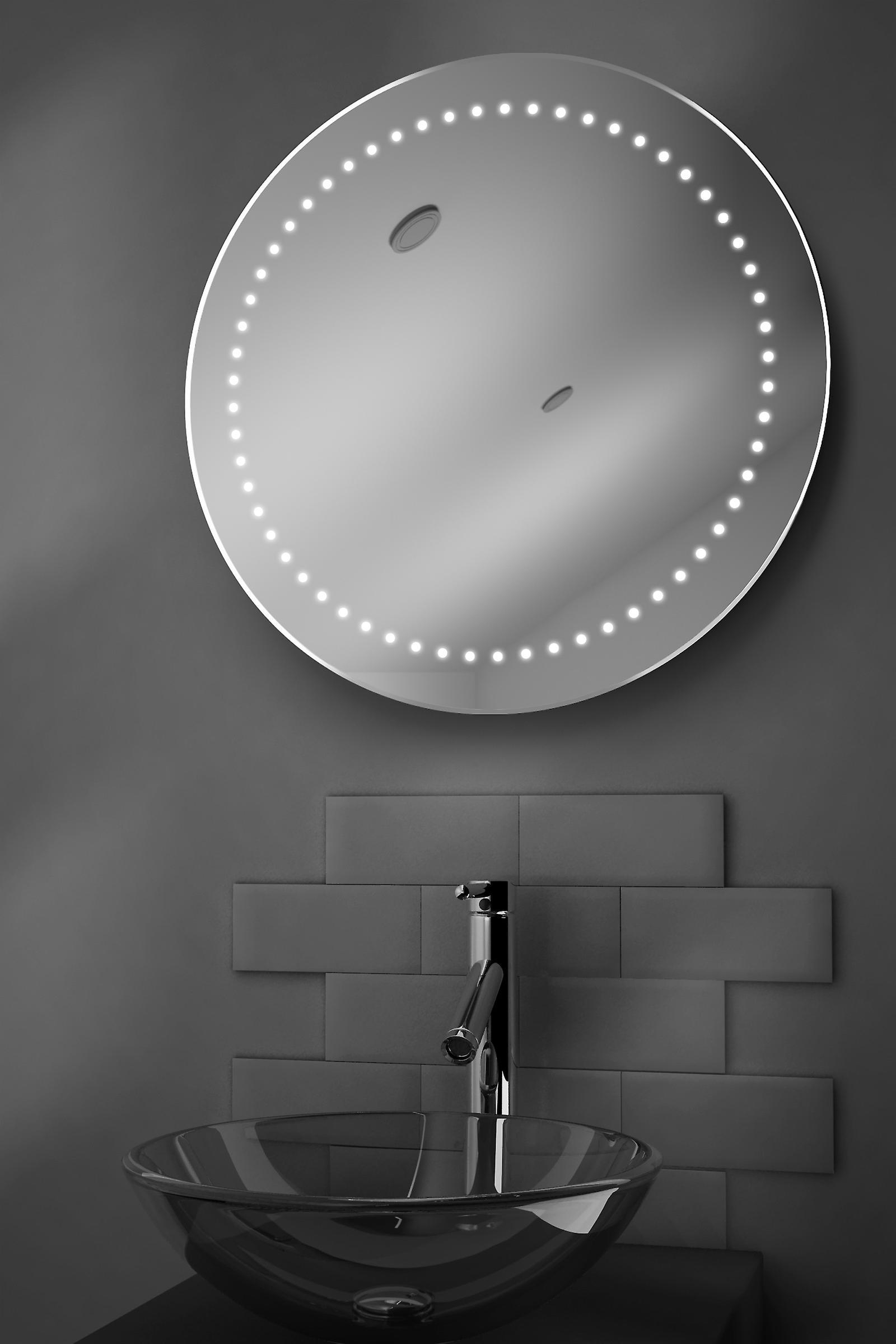 Aero Ultra-Slim LED Bathroom Mirror With Demister Pad & Sensor k98