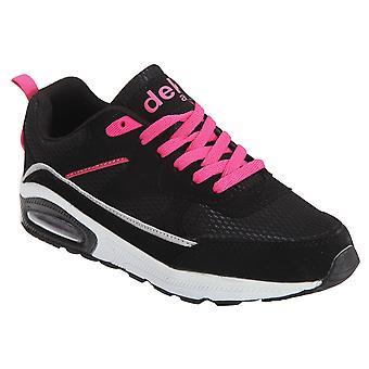 Dek Womens/Ladies Air Supreme Lace Up Jogger Trainers