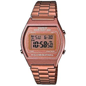 Casio Collection dames rétro Digital Watch - bronze (numéro de modèle B640WC-5AEF)