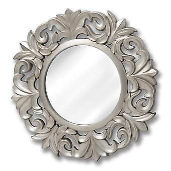 Hill Interiors Large Baroque Circular Mirror
