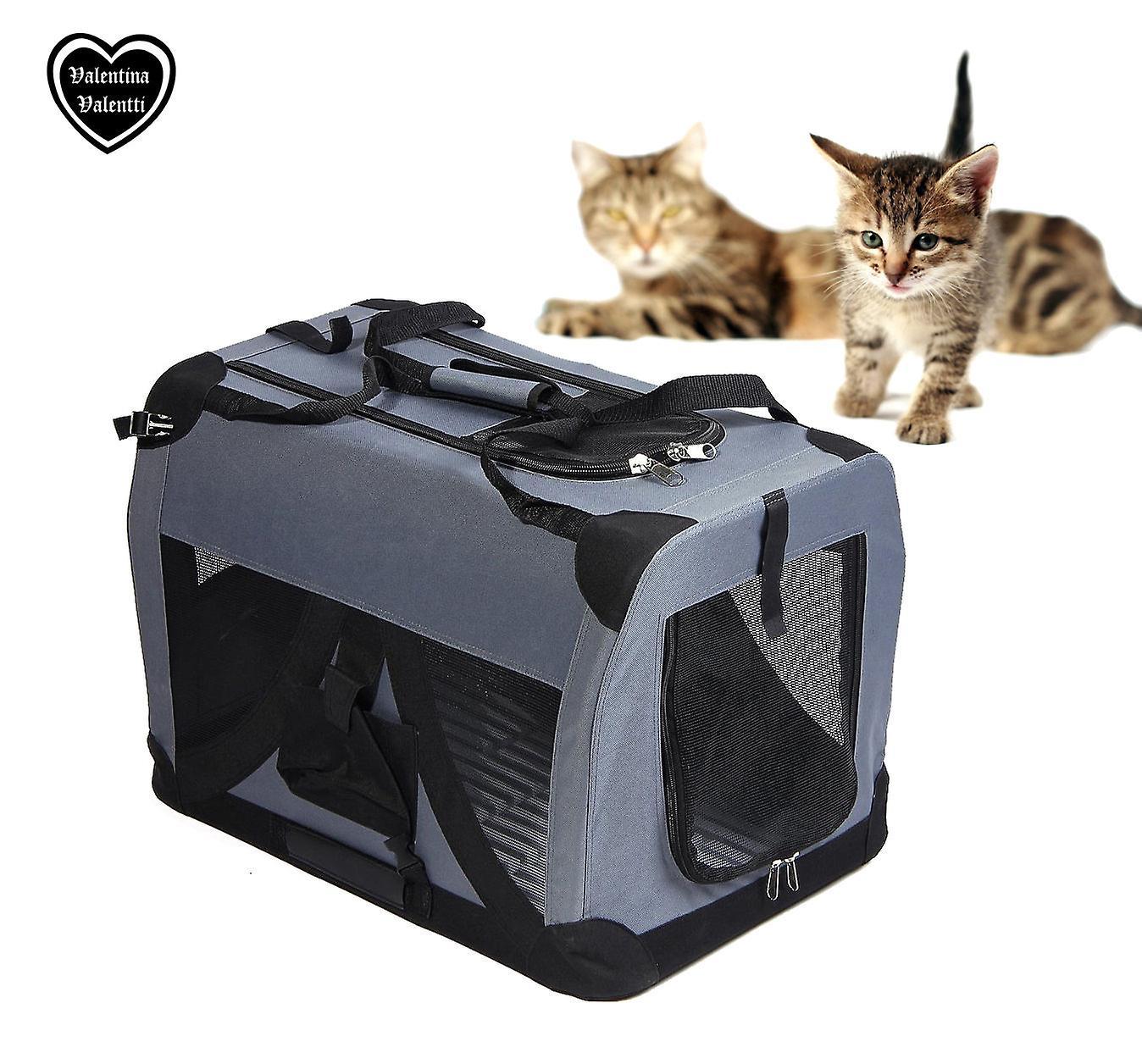Valentina Valentti gatto gattino Canvas Pet Carrier trasporto cassa morbido piccolo S