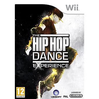Hip hop Dance Experience (Wii)-fabriken förseglad