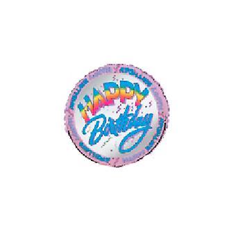 Folie ballong HAPPY BIRTHDAY