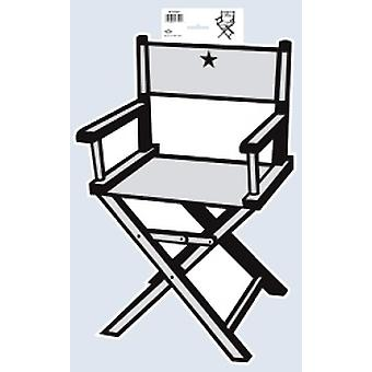 Director's Chair Cutout 19 inch Printed On Both Sides