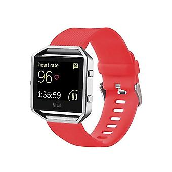Plastic / silicone watch wristband for Fitbit blaze Watch Red accessories