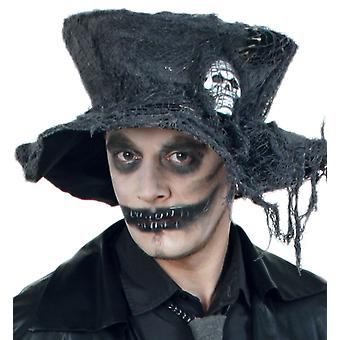 Zombie klobúk Halloween Horor lebka zombie