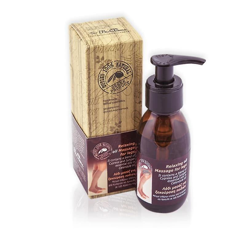 Relaxing massage oil for legs 100ml.