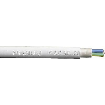 Faber Kabel 020214 Sheathed cable NHXMH-J 5 G 1.50 mm² Grey Sold per metre