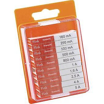 ESKA 120950 Micro sikring sett (Ø x L) 5 x 20 mm hurtigrutløsende - F-innhold 100 eller flere PCer