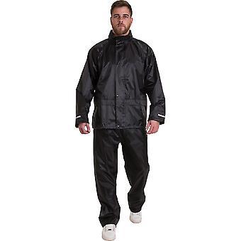 Olhar exterior Mens Tullich terno impermeável casaco calça conjunto