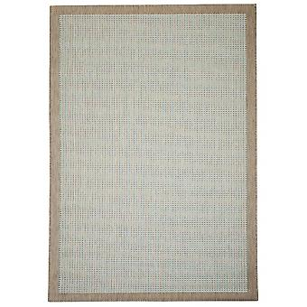 Outdoor carpet for Terrace / balcony of Essentials chrome Aqua 135 / 190 cm carpet indoor / outdoor - for indoors and outdoors