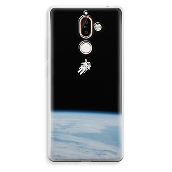 Nokia 7 Plus transparentes Gehäuse (Soft) - allein im Raum