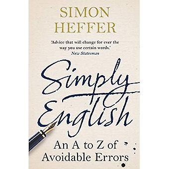 Gewoon Engels: Een A-Z van vermijdbare fouten